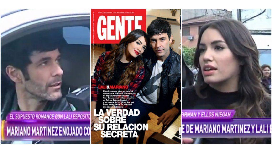 Lali Espósito y Mariano Martínez hablaron de la tapa de Gente: contundentes declaraciones