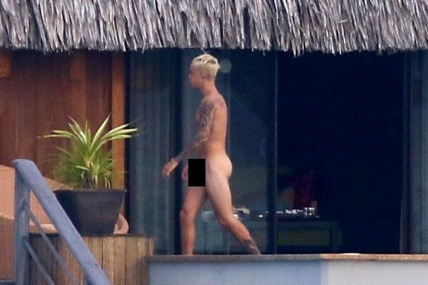 Las fotos de Justin Bieber desnudo que revolucionan las redes