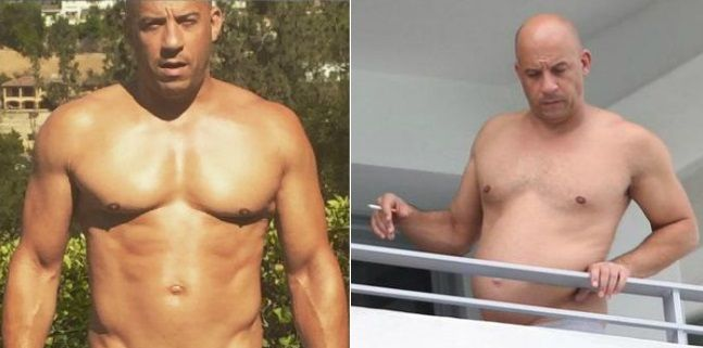 ¿Dónde quedaron los abdominales, galán? En las redes sociales se burlan de Vin Diesel y su exceso de peso