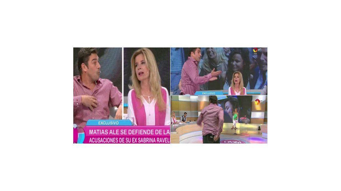 Mercedes Ninci le preguntó a Matías Alé por qué su mamá no fue al casamiento y desató un escándalo: No tengo paz