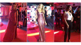 Noche de glamour: Pampita, Peterson y Valdes, sexies y elegantes en un evento top