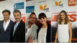 Los looks de Vicuña, El Tirri y Sabrina Garciarena en la avant premiere de Baires