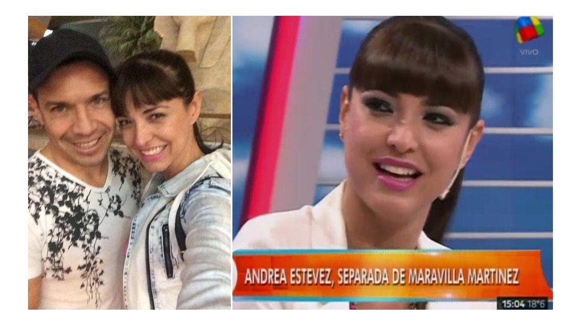 Andrea Estevez escrachó la doble vida de Maravilla Martínez: Salimos hace seis meses y hace un año que estaba con otra mujer