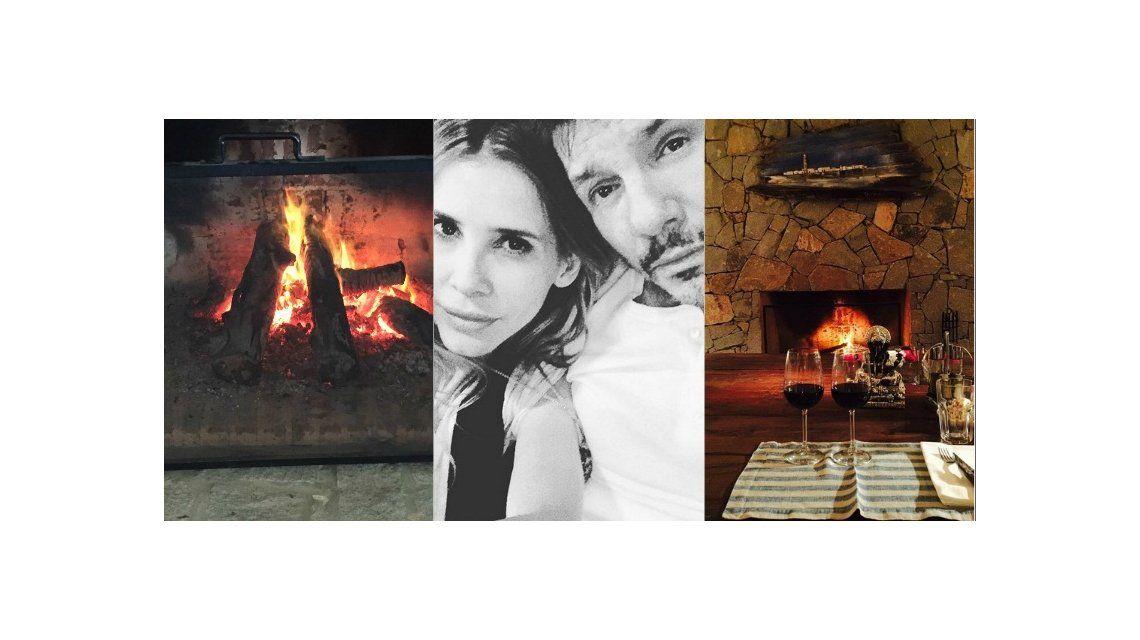 La noche de amor de Marcelo Tinelli y Guillermina Valdes: cena íntima al calor de la chimenea