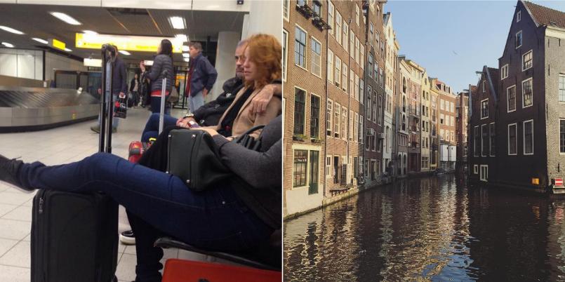 El viaje romántico de Jorge Rial y Agustina Kämpfer a Europa