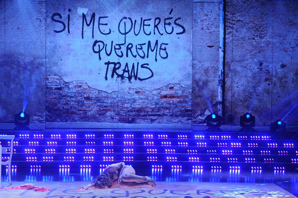 El adagio de Lizy Tagliani, hasta las lágrimas: Si me querés, quereme trans