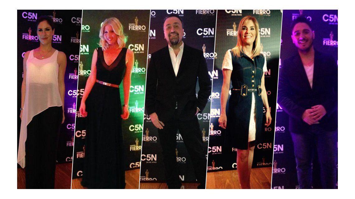 Se entregaron los diplomas de los Martín Fierro de Cable: mirá el look de los famosos