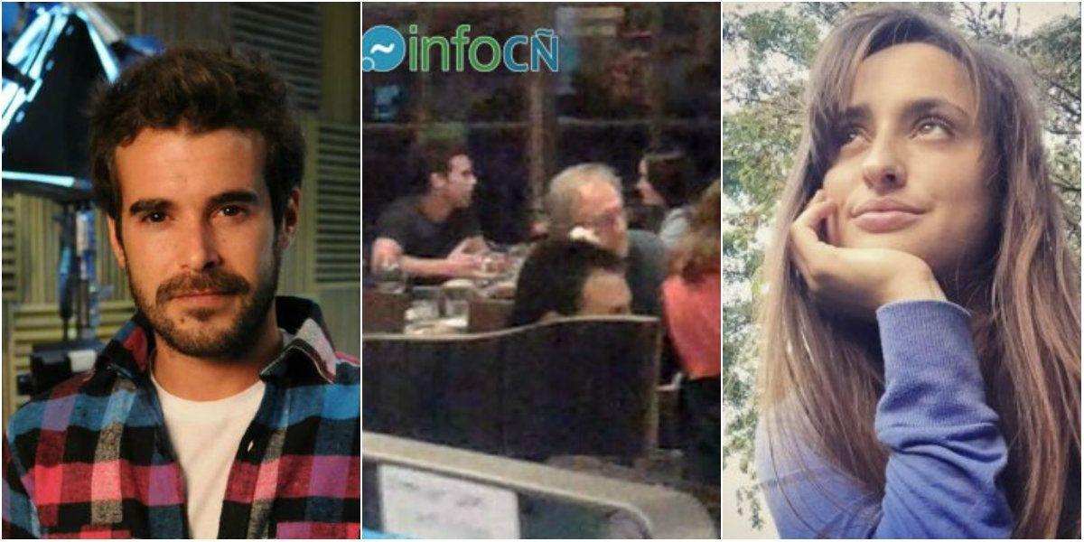 ¿Quién es la joven que acompañó a Nicolás Cabré en una cena íntima?