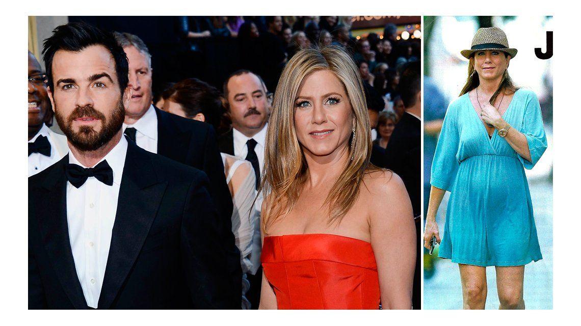 La primera foto de Jennifer Aniston embarazada de gemelas