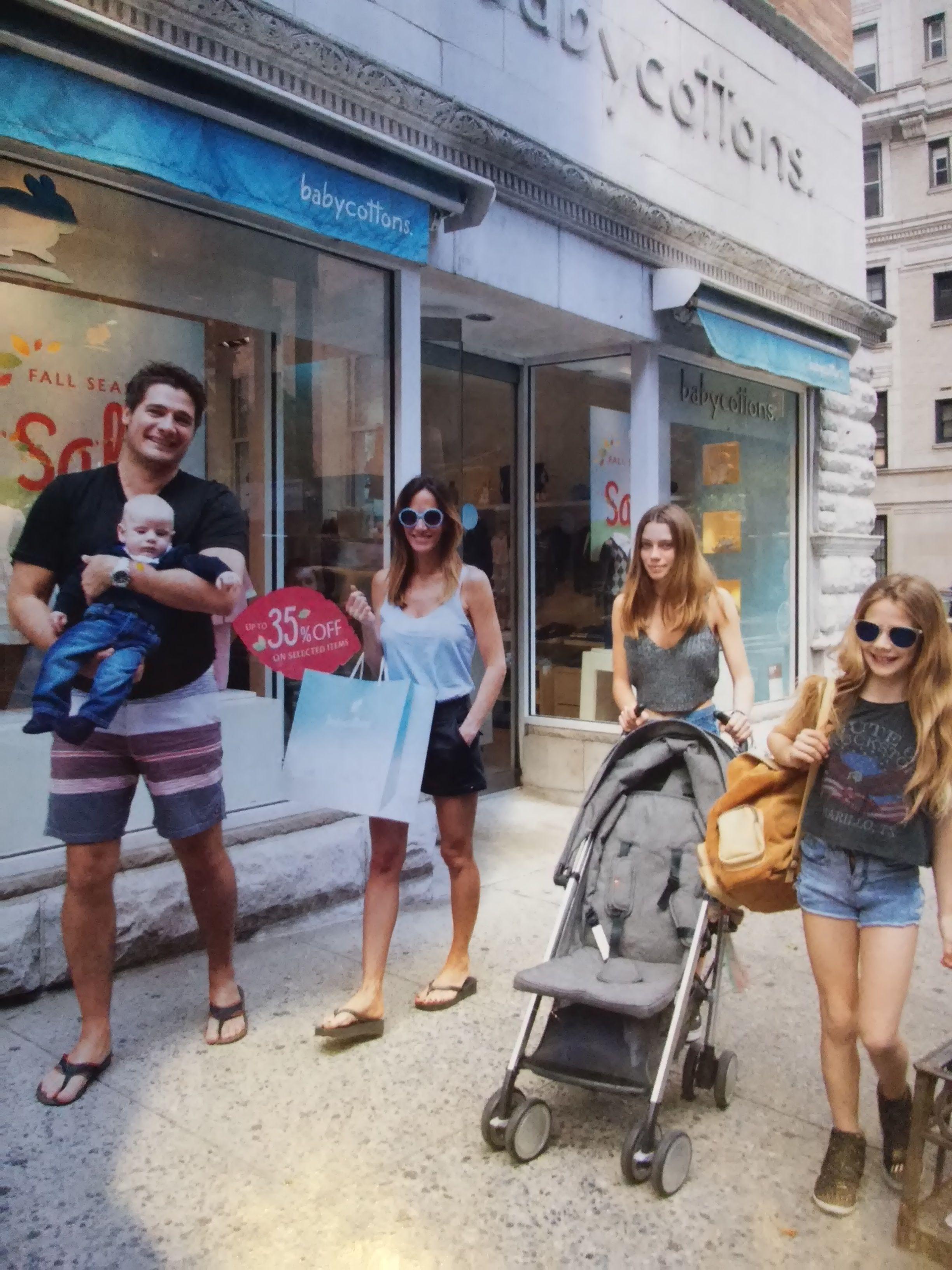 Tras el nacimiento de Ramón, la familia de Guillermo Andino descansa en Nueva York