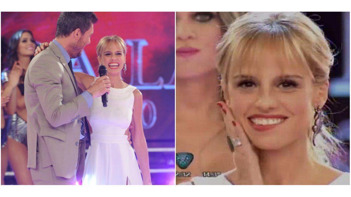 Mariana Fabbiani debutó en ShowMatch: pícaro diálogo con Marcelo Tinelli ¡con palito para Nacha!