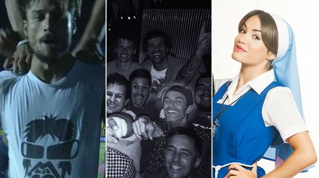 Mariano Martínez se fue de fiesta con sus amigos e hizo la gran Daniel Osvaldo: Que la cuenten como quieran