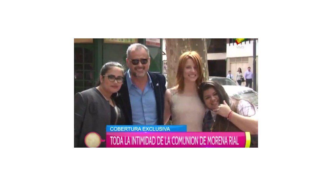 La foto familiar de Jorge Rial y Agustina Kämpfer con las hijas de él:  ella confesó cómo quiere que sea el casamiento