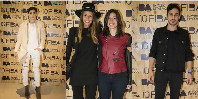 Teatro, actores y moda en la noche porteña: todos los looks en el FIBA