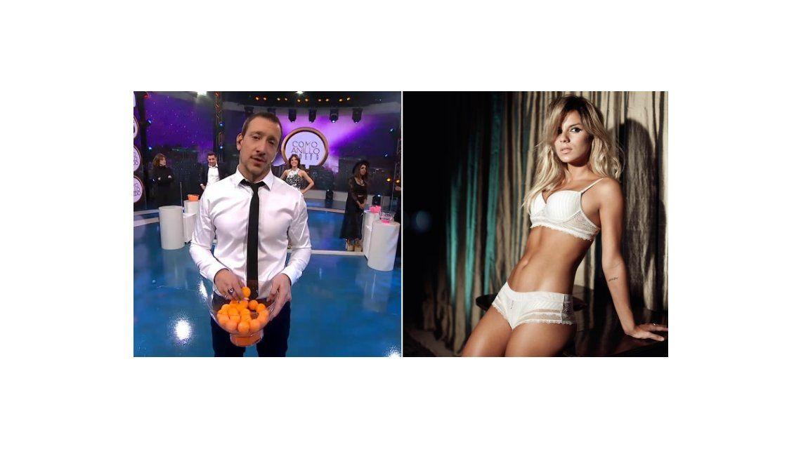 La caliente propuesta de Nico Vázquez a Gime Accardi en vivo: Venite ya que te quiero chapar a vos, mi amor