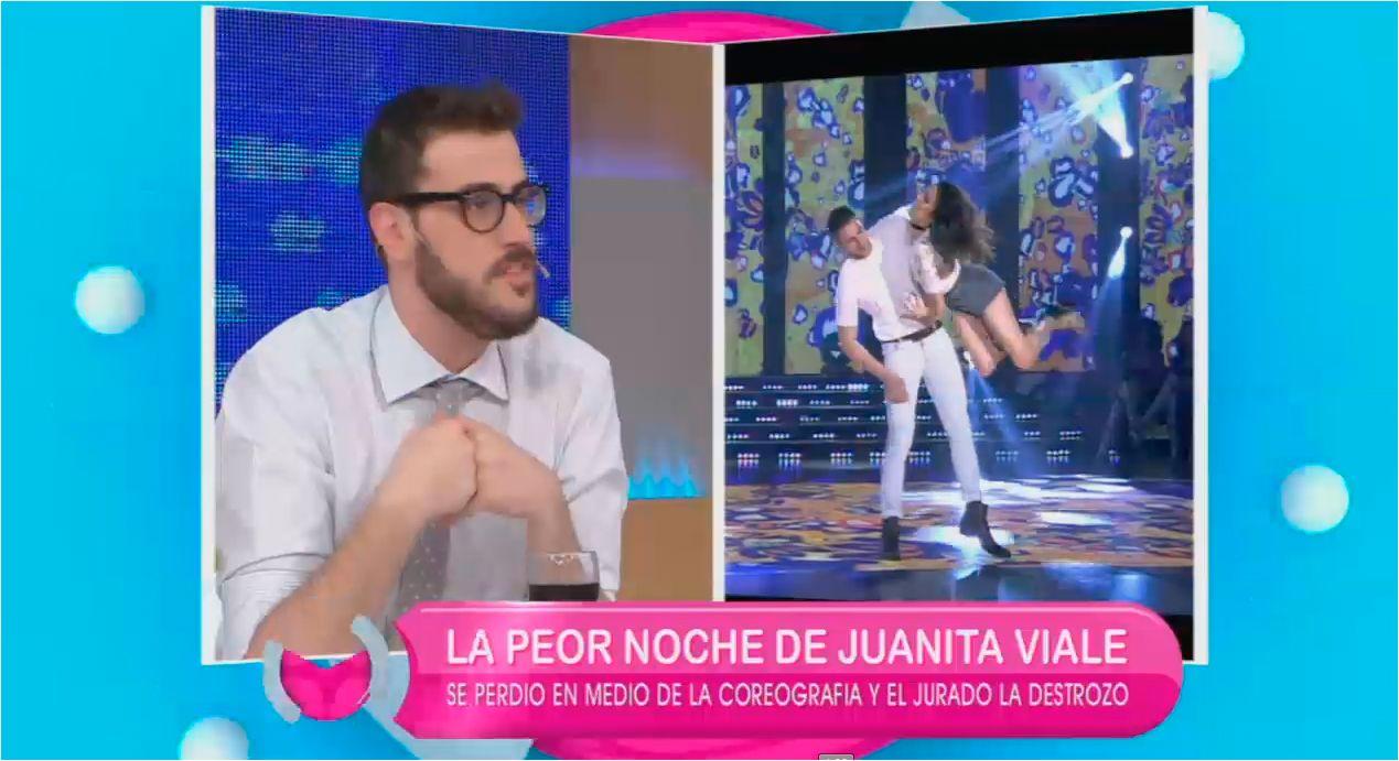 Insólita crítica de Diego Leuco a Juana Viale: No me gusta para nada; es muy dejada
