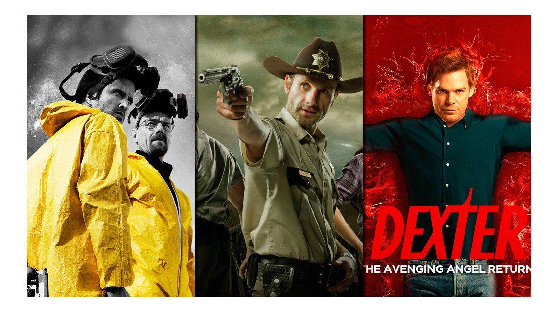 Enterate desde qué momento no pudiste dejar de mirar tu serie: el análisis de Breaking Bad, The Walking Dead, Dexter y más...