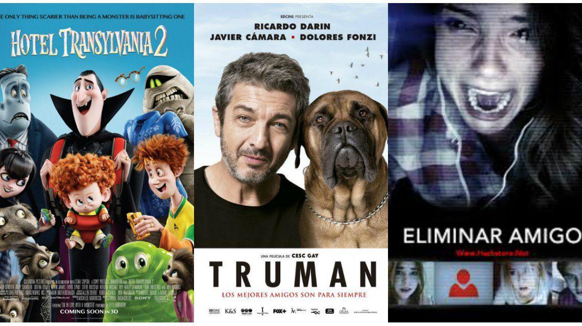 Truman, la nueva película de Ricardo Darín, y los estrenos internacionales de la semana