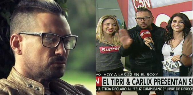 Actor y músico: El Tirri presentó Tu me besas, el videoclip de su banda