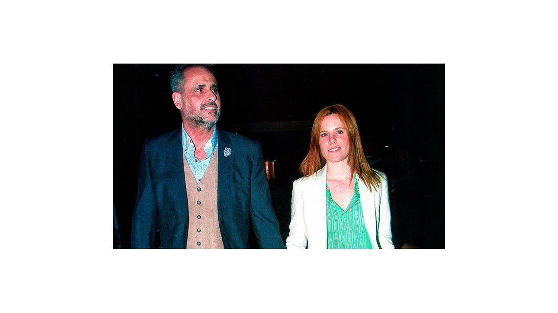 Jorge Rial y Agustina Kämpfer afianzan su amor: ahora comparten camarín