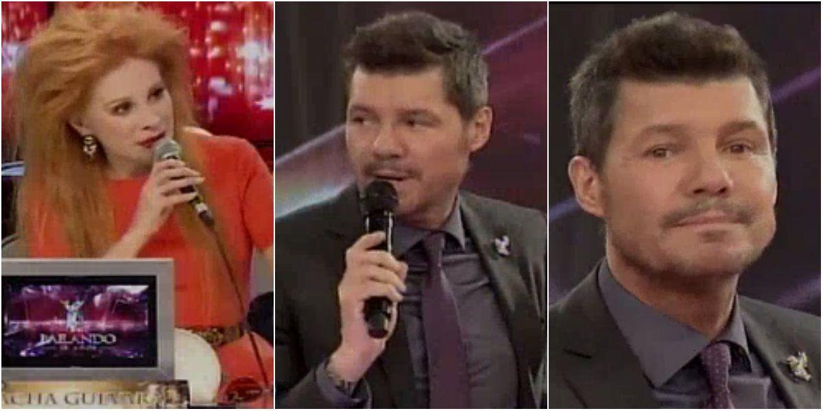 Nacha Guevara criticó indirectamente al programa y Marcelo Tinelli ironizó: Voy a cambiar la pregunta para la próxima