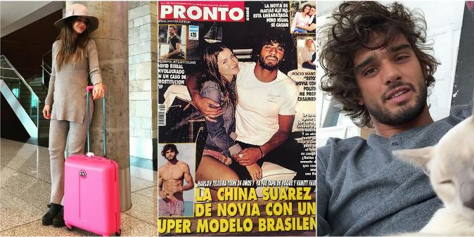 La foto que confirma el romance de la China Suárez y el modelo Marlon Teixeira: encuentro secreto en Brasil