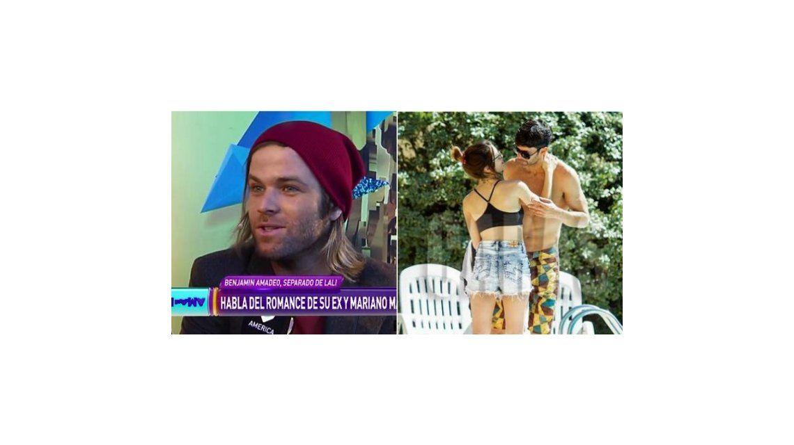 Benjamín Amadeo habló de la relación de Lali Espósito y Mariano Martínez: Hay que dejarla ser y no juzgar