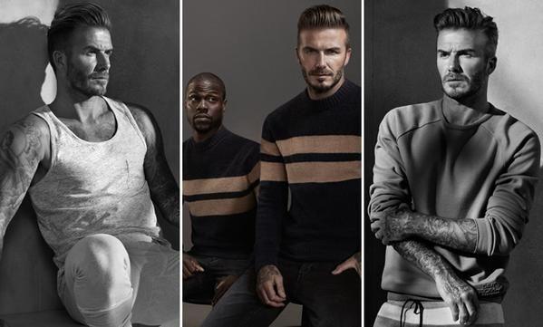 La faceta de David Beckham como actor y modelo: ¡Mirá el divertido video!