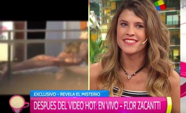 ¿Quién es el hombre con el que estaba Flor Zaccanti en el video hot?