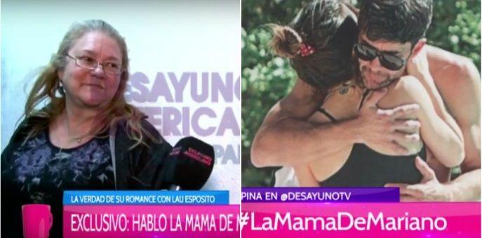 El enojo de la mamá de Mariano Martínez por los rumores de romance de su hijo y Lali: quiere que vuelva con Juliana