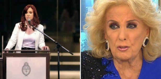 Sin nombrarla, Cristina Kirchner le respondió a Mirtha Legrand por decirle dictadora