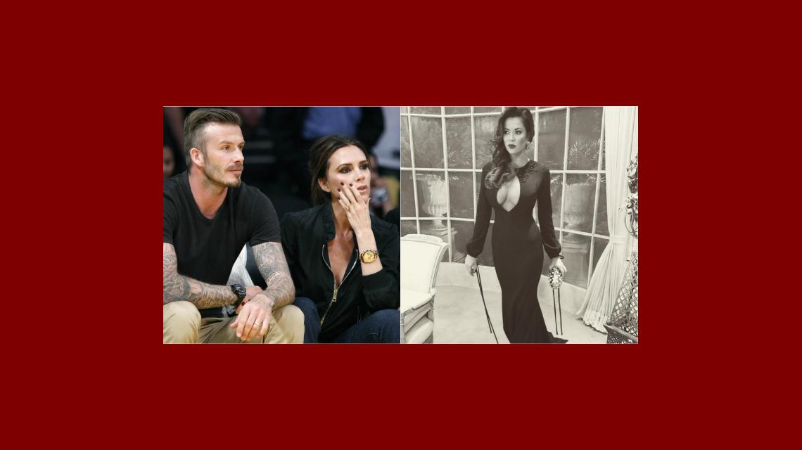 Victoria Beckham, en crisis con David, que quedó impactado con Karina Jelinek