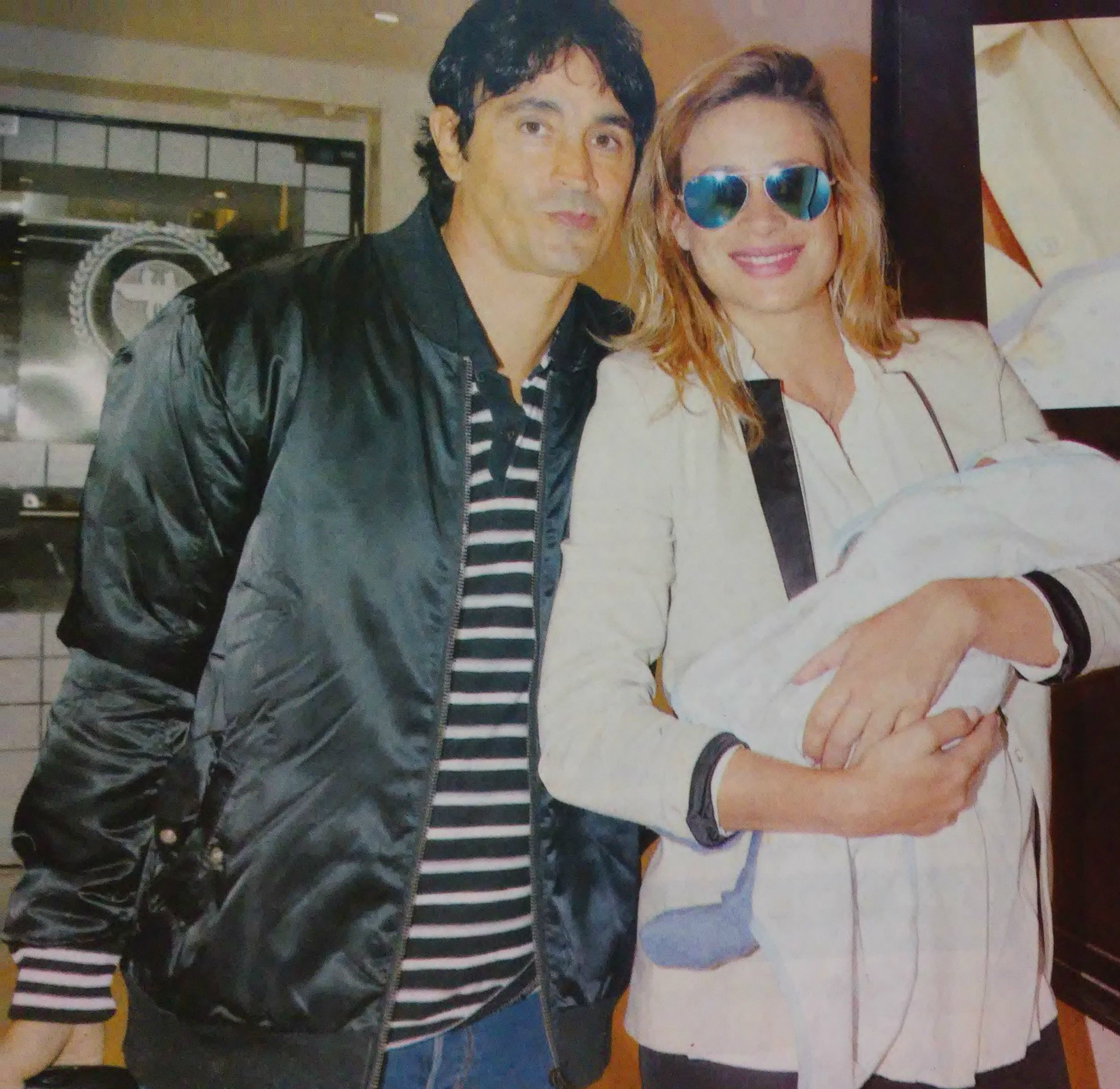 Sebastián Estevanez, a días de ser padre por tercera vez, recordó cómo concibieron a Valentino