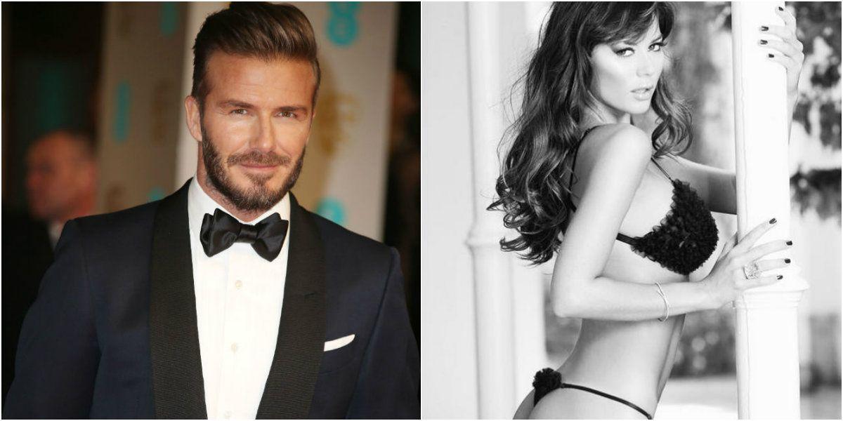 David Beckham quiso seducir a Karina Jelinek en Miami: ¿qué pasó entre ellos?