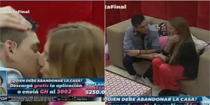 Brian sorprendió a Marian en el cuarto rojo: varios besos ¡y escena de celos!
