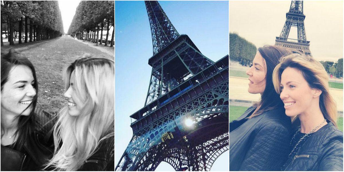 Las vacaciones de Rocío Guirao Díaz con una amiga en París: mirá sus fotos