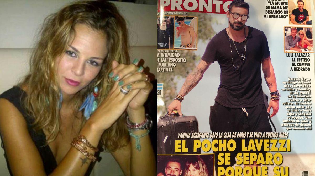 Los verdaderos motivos de la separación del Pocho Lavezzi y Yanina Screpante