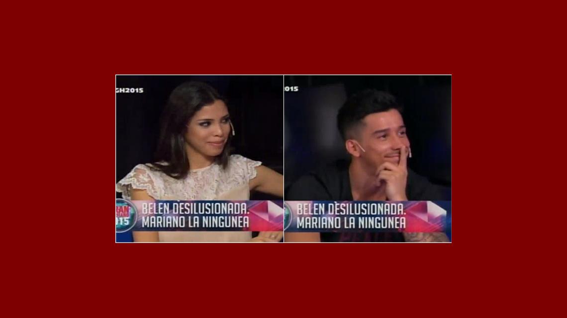 Momento incómodo en El Debate: Nico y Maypi tuvieron que anunciar que están separados