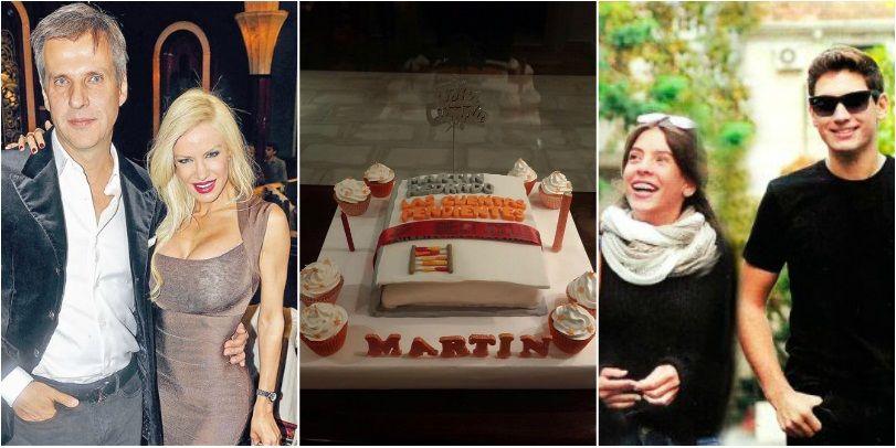 El festejo íntimo del cumpleaños de Martín Redrado con sus hijos y Luciana Salazar: ¿cómo fue el reencuentro?