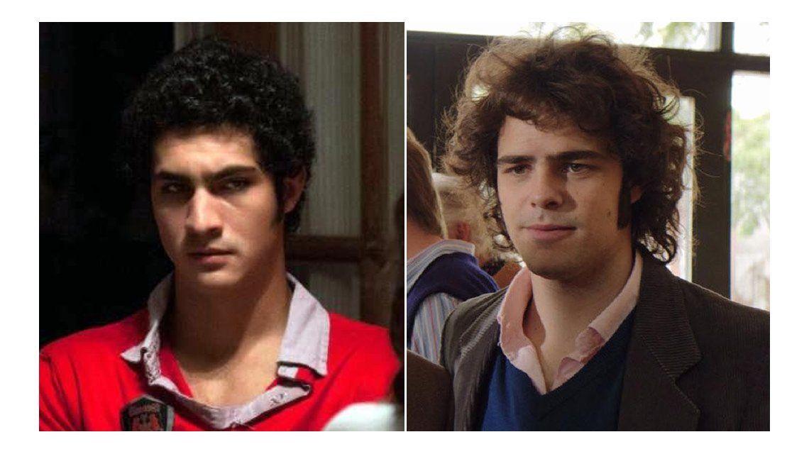 El Chino Darín hace de Alejandro Puccio en la televisión y vio al del  cine: El laburo de Peter Lanzani me gustó mucho