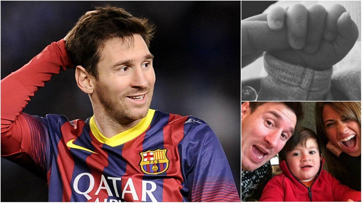 El especial festejo de Lionel Messi, dedicado a su hijo Mateo