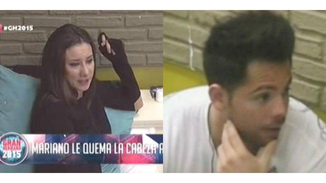 Gran Hermano: Belén, furiosa con Mariano, rompió en llanto en plena discusión