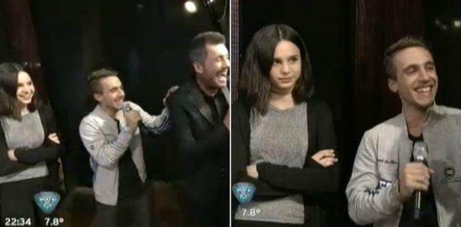 La reacción de Marcelo Tinelli cuando Stéfano de Gregorio saludó (¡y abrazó!) a Juanita