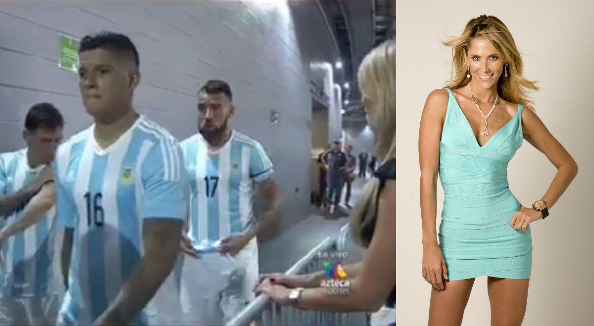 Mientras Lionel Messi agrandaba su familia, la periodista que quiso seducirlo hizo su descargo