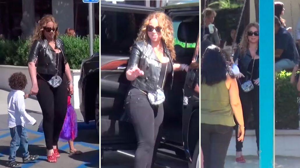 Filmaron a Mariah Carey borracha en Malibú: Está siempre mareada y se rehúsa a buscar ayuda