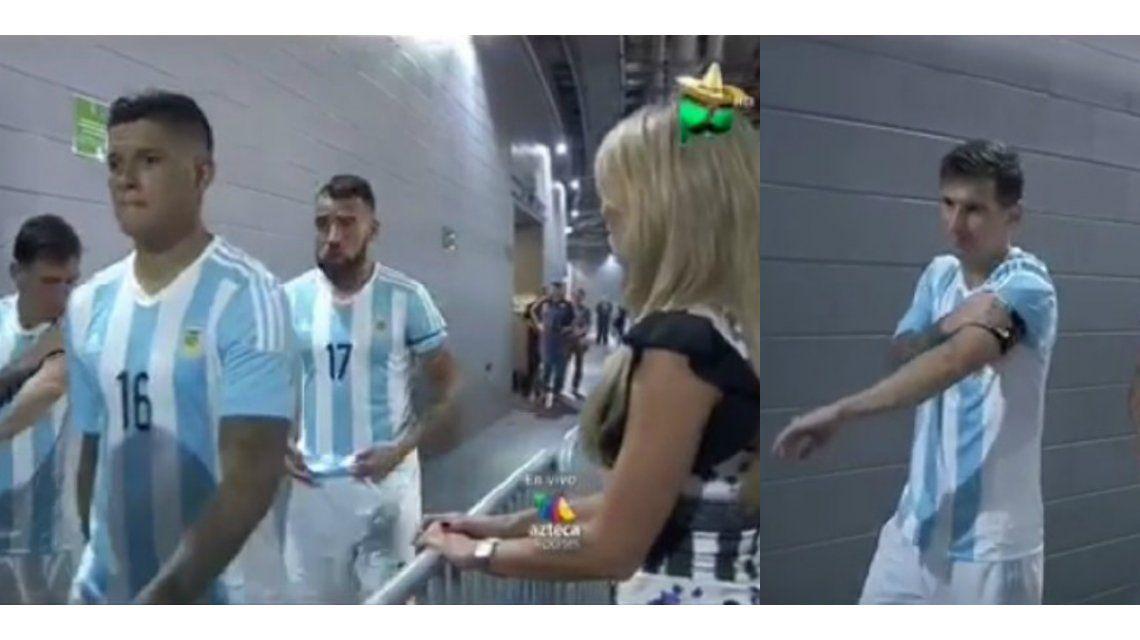 ¿Cómo reaccionó Lionel Messi cuando una rubia voluptuosa lo quiso seducir después de un partido?