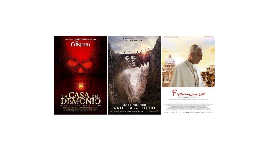 Los estrenos de cine de la semana: mirá los trailers de las películas