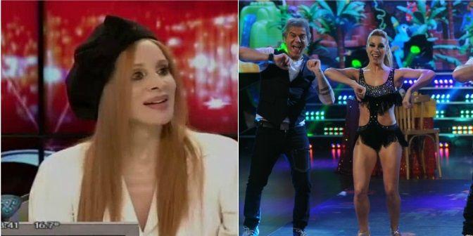 Beto Casella bailó la salsa en trío pero no la pasó bien con Nacha Guevara