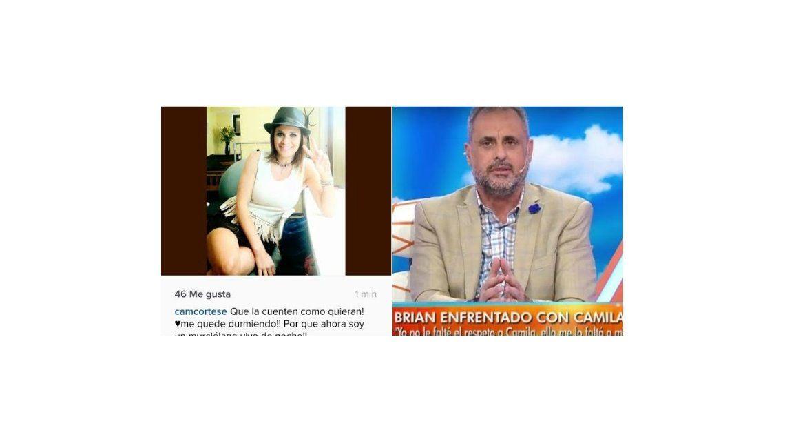 Camila de Gran Hermano plantó a Intrusos y Jorge Rial la retó en vivo: Te estás rascando en tu casa