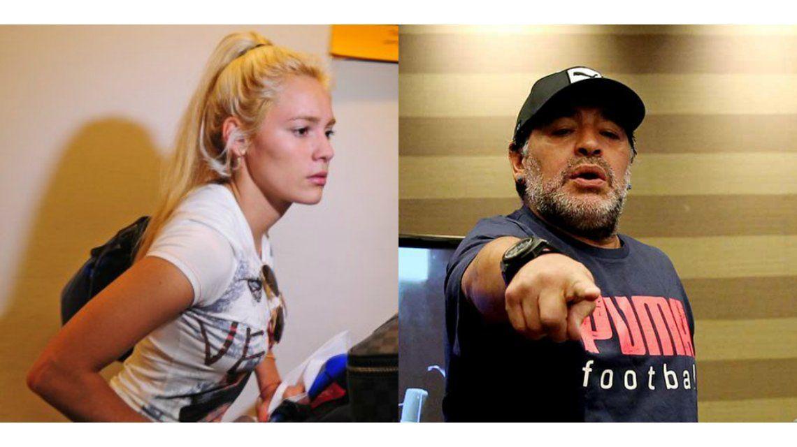 El regreso de Rocío Oliva a la Argentina: ¿vino a organizar la boda o se peleó con Diego Maradona?